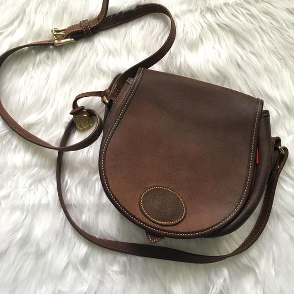 f1f9a0a29 Dooney & Bourke Handbags - VINTAGE Dooney & Bourke Calvary crossbody purse